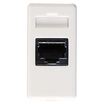 Priza telefon, gama System, 1 modul, alb, GW20251, RJ11 ( fax, modem ) - GW20251 - 8011564026025