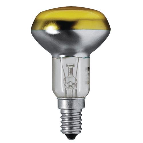 Reflector Colours 40W E14 NR50 YE Galben - 923346744217 - 8711500328007
