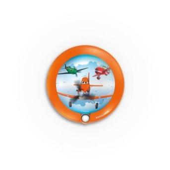 Aplica pentru copii / lampa de veghe cu senzor Philips Disney Planes 1xLED/0,06W IP20 - 717655316 - 8718291529415 - 915004435401