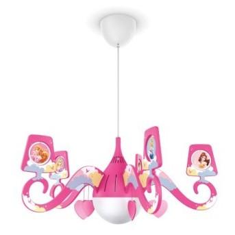 Candelabru Disney Princess 1xMax15W E27 - 717572816 - 8718291532866 - 915004409401