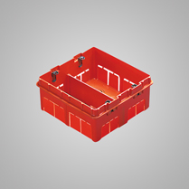 Doza modulara 8 module (4+4) module sub tencuiala - GW24237 - 8011564024984
