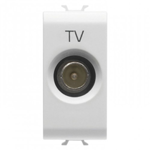 Priza TV Direct Tata 1 modul CH/WH - GW10361 - 8011564258969