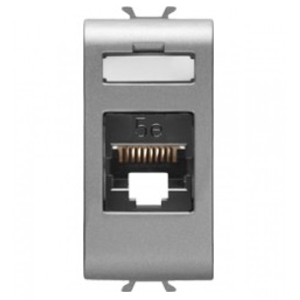 Priza UTP RJ45 cat 5e 1 modul CH/VT - GW14421 - 8011564267268