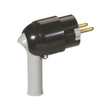 Stecher SK 2P+T extragere usoara, Negru - 050176 - 3245060501761