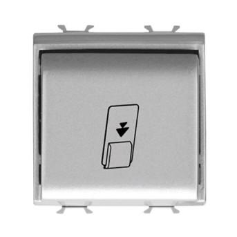 Intrerupator insigna 1P 16AX 2 module CH/VT - GW14039 - 8011564439320