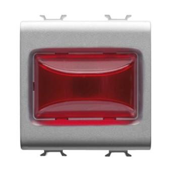 Indicator proeminent LED Rosu 2 module CH/VT - GW14633 - 8011564268586