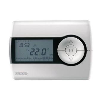 Termostat 5-40G programabil zi/saptamana 130x92x23 CH/WH - GW10701 - 8011564261785