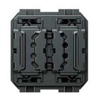 Buton de actionare pt completare cu 2 capace de 1 modul - H4595 - 8005543441275