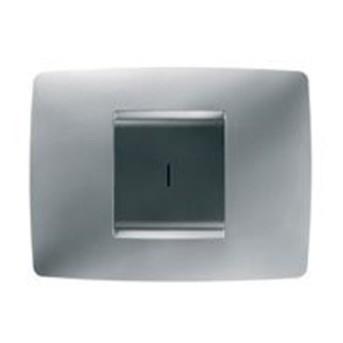 Buton Wireless 1 modul CH/BK - GW12801 - 8011564266513