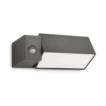 Aplica de exterior de perete cu senzor de miscare Border Antracit - 169439316 - 5413987123207 - 915003817401