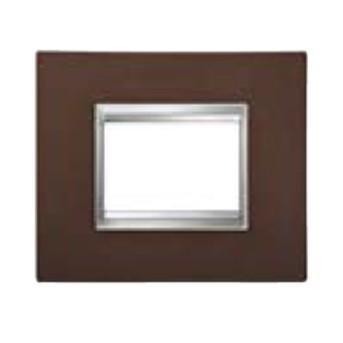 Rama Flat 4 module CH/Fier oxidat (metal) - GW16604MF - 8011564744592