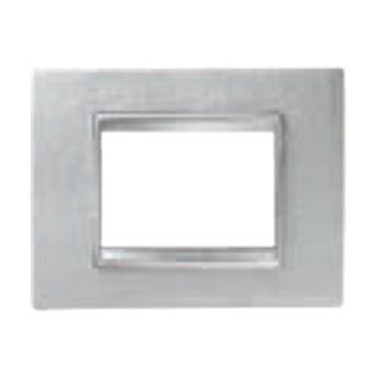 Rama Lux 6 module CH/Alb (piele) - GW16206PB - 8011564273061