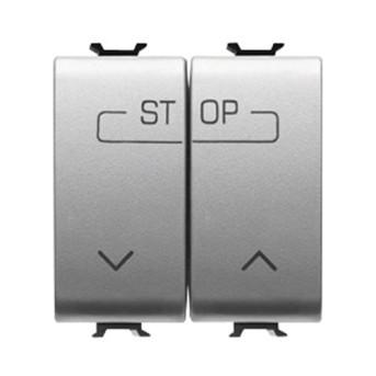 Buton pentru comanda combinata 1P ND 16A 2 module CH/VT - GW14160F - 8011564266001