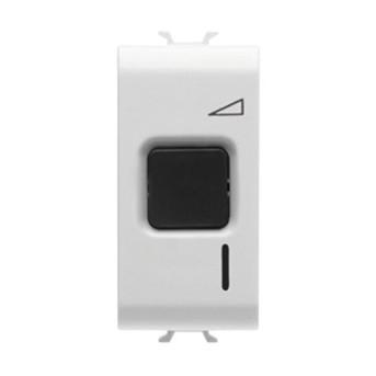 Variator cu buton 60-500W 230V 1 modul CH/WH - GW10568 - 8011564261105