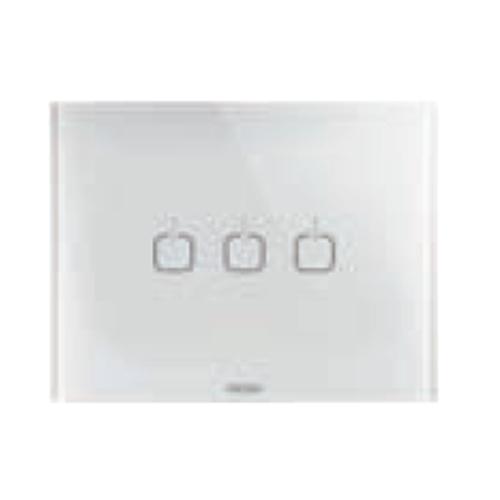 Rama Ice Touch 3 simboluri 3 module CH/Alb - GW16953CB - 8011564774803
