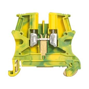 037170 Clema conexiune cu surub 0.25-2.5mm, 1 intrare-1 iesire, Verde-Galben - 037170 - 3245060371708