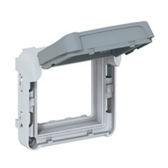 Adaptor cu capac fumuriu, IP55 - 069580 - 3245060695804