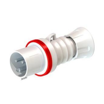 Fisa industriala 3P+T 32A 400V 6h, Rosu, IP44/IP54 - GW60019H - 8011564796867