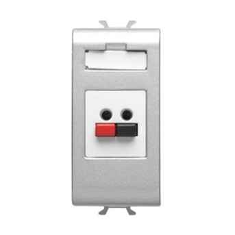Priza microfon/boxa 1 modul CH/VT - GW14458 - 8011564719262