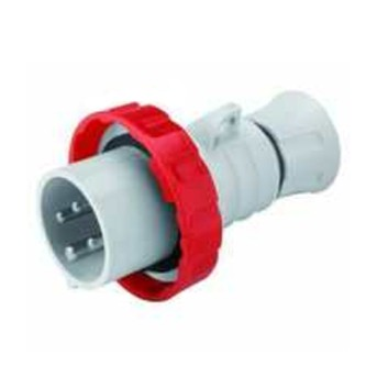 Fisa industriala 3P+N+T 32A 400V 6h, Rosu, IP66-IP69 - GW60042FH - 8011564797277