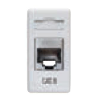 Priza FTP RJ45 cat 6 1 modul SY/WH - GW20686 - 8011564247284