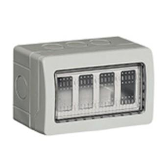 Doza aparenta 4m IP55 - 25504 - 8012199380360