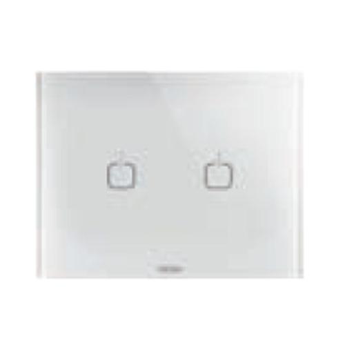 Rama Ice Touch 2 simboluri 3 module CH/Alb - GW16952CB - 8011564774773