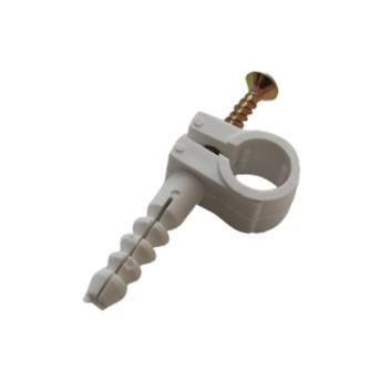Cleme rapide fixare cablu cu surub 8mm (set 10 buc) - 5947047001544