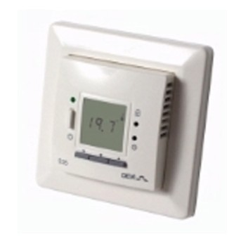 Devireg 535 Termostat programabil, 15 A, senzor de ambient incorporat si senzor in podea - 140F1052