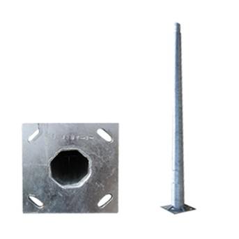 Stalp iluminat metalic octogonal 6m T=3mm, DWS-130Km/h - PAD0-60/0