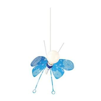 Corp de iluminat pentru copii Philips Butterfly 1xCFLi/14W E27 Albastru - 402805510 - 5413987001062 - 915001641001