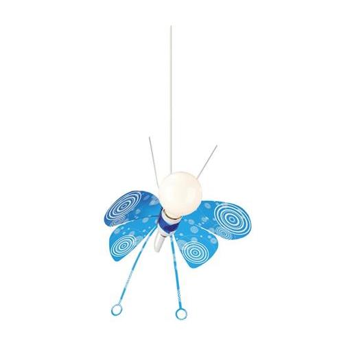 Corp suspendat Philips Ki Butterfly K 1xCFLi/14W E27 Albastru - 402805510 - 5413987001062 - 915001641001