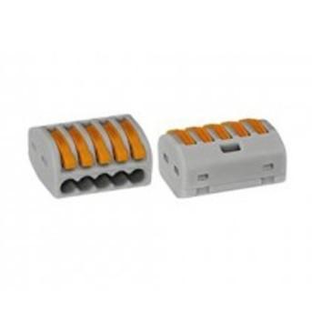222-415 Clema legatura Wago 5x0.08-2.5mm litat max. 32A - 222-415
