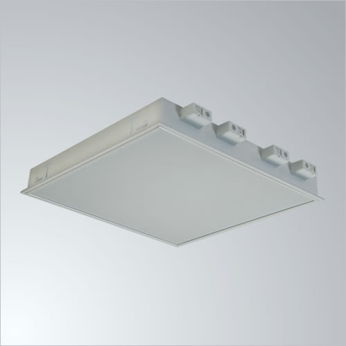 5014-603 INC. 2x22W LED IP40 Opal