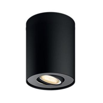 Spot aplicat Philips HUE Pillar Negru LED 350lm GU10 cu variator inclus - 915005915401 - 8718696175330