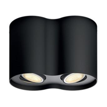Spot Philips Hue aplicat Pillar Negru 2x5.5W LED 500lm - 5633230P7 - 8718696159293 - 915005403201