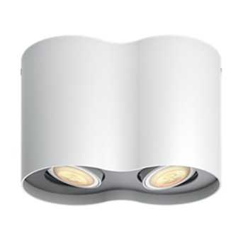 Spot LED aplicat Philips HUE Pillar Alb cu intrerupator dimabil - 915005916901 - 8718696175484