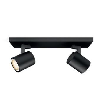 Spot Philips Hue aplicat Runner Negru 2x5.5W LED 500lm - 5309230P7 - 8718696159279 - 915005403101