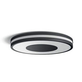 Plafoniera/Aplica tavan Philips HUE Being Negru bec LED si intrerupator dimabil - 915005913601 - 8718696175187