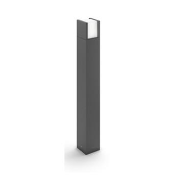 Stalp de iluminat decorativ de gradina Philips Arbour 1x6W/LED 600lm 77cm Antracit IP44 - 164639316 - 8718696131275 - 915005194101