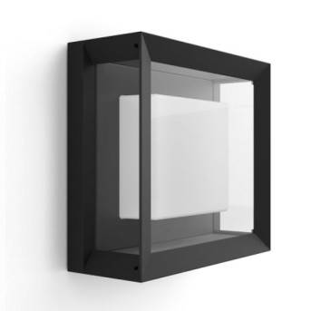 HUE 1743830P7 Aplica Econic 15W LED RGB Negru IP44 - 915005731901 - 8718696170564