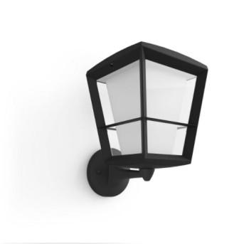 HUE 1743930P7 Aplica Econic Up 15W LED RGB Negru IP44 - 915005732101 - 8718696170571