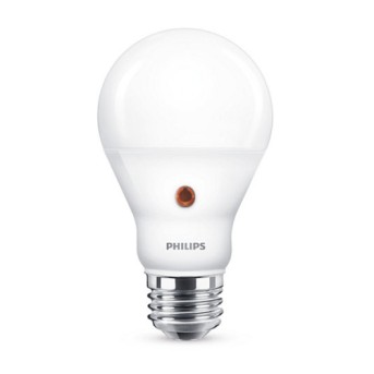 Bec Philips LED A60 mat D2D cu senzor crepuscular 6.5 60W 806lm 4000K E27 25.000h - 929001383701 - 8718696739426