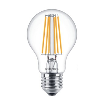 Bec LED Classic Philips Filament A60 CL 8 75W E27 2700K 1055lm - 929001384002 - 8718696742594