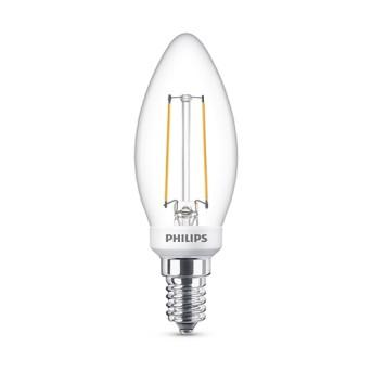 BEL LED Classic Filament B35 CL Dim 4.5 40W 2700K 470lm E14 15.000h - 929002391102 - 8718699773373