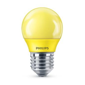 Bec LED Philips colorat P45 3.1 25W YE Galben E27 - 929001394058 - 8718696748602