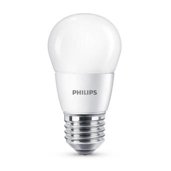 Bec LED Philips lustra P48 FR 7 60W 2700K 806lm E27 15.000h - 929001325301 - 8718696702918