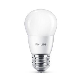 Bec LED Philips lustra P48 FR 7 60W 4000K 830lm E27 15.000h - 929001325601 - 8718696702970