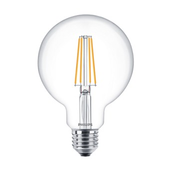 LED Classic Filament Globe G93 CL 7 60W 2700K 806lm E27 15.000h - 929001387902 - 8718696742716