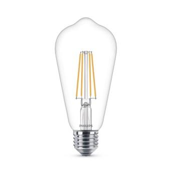 LED Classic Filament ST64 7 60W 2700K 806lm E27 15.000h - 929001387617 - 8718696742433